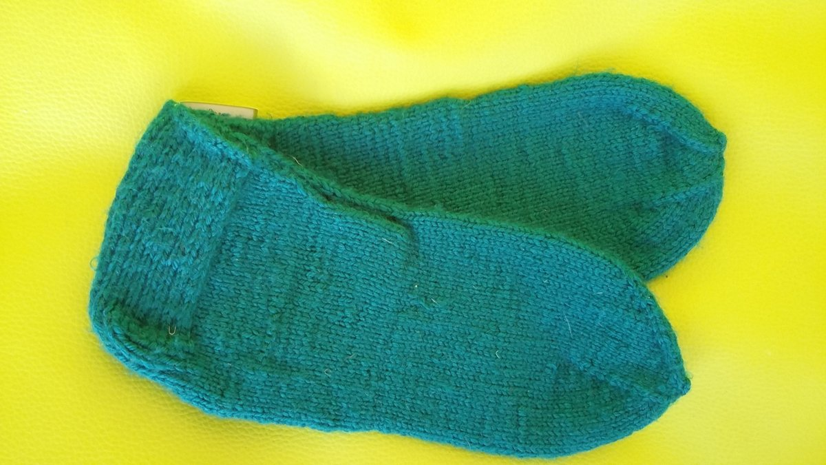 Knitted socks Size 39
