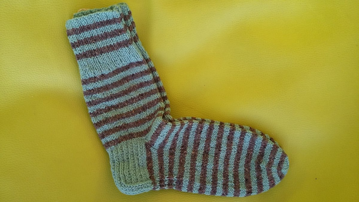 Knitted socks 37/38