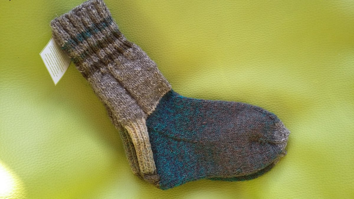 Knitted socks 28