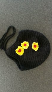 "Crocheted hat ""Flower"""