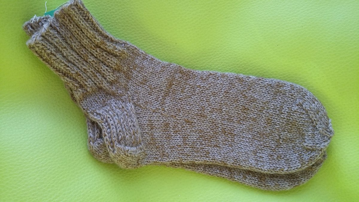 Knitted socks 33