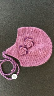 "Crocheted hat ""Blueberry"""